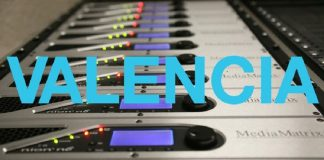 Curso para técnicos de sonido de sistemas de audio Mediamatrix |Valencia