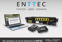 iluminacion espectacular ENTTEC | distribución ACSON