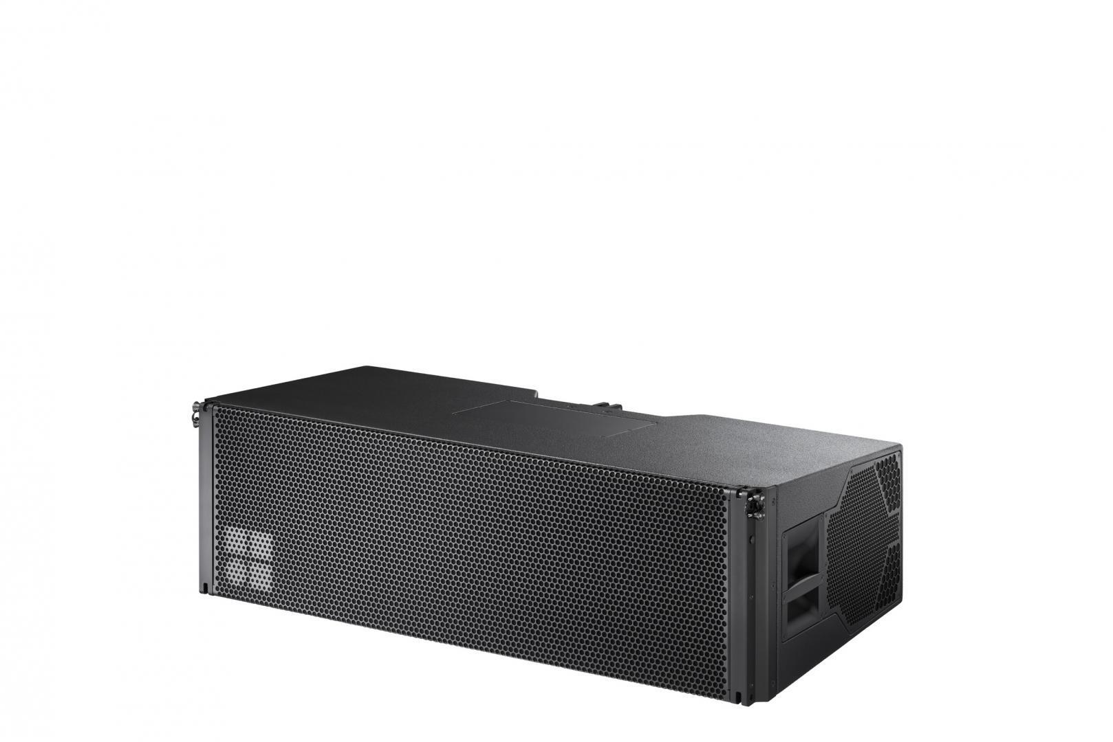 Sistema de sonido profesional line array Serie S y el Sistema GSL de d&b