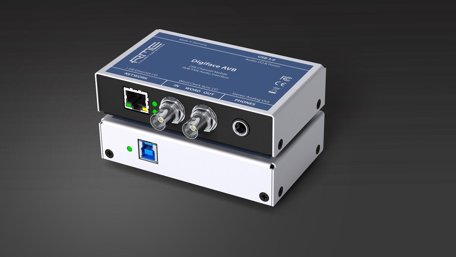 Tecnología red de audio y soluciones móviles Dante de RME en Musikmesse