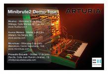 Demo de sintetizadores de Arturia Continua la gira de Minibrute 2