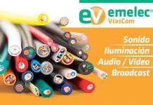 Cables de sonido video broadcast y control de iluminación