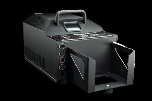 La máquina generadora de humo Spock puede producir grandes cantidades de humo con su potencia de 3,1 kW