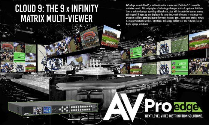 AVIT VISION, distribuidor oficial de Gestión de Señales de AVPro Edge