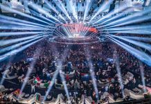 Cabezas móviles, luminarias LED, en la Gala de Eurovisión 2018