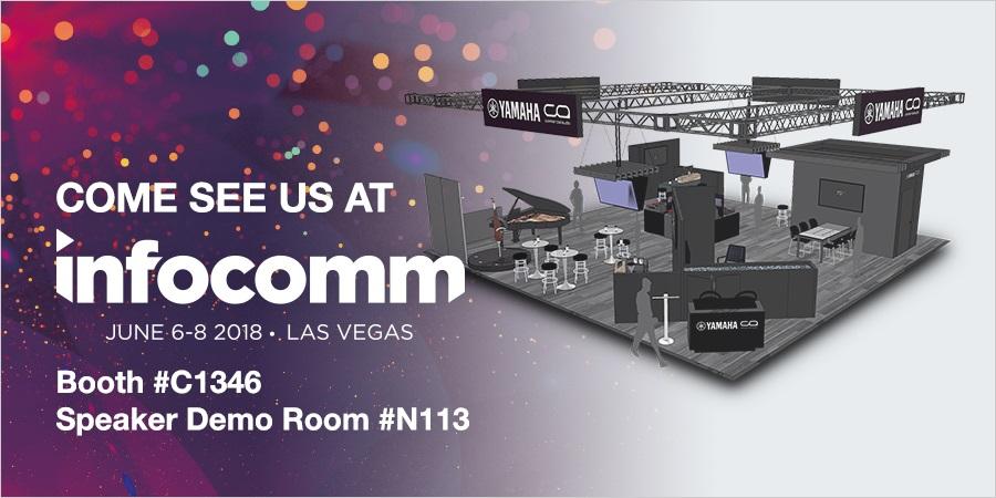 Consolas de mezclas digitales RIVAGE de Yamaha en InfoComm 2018