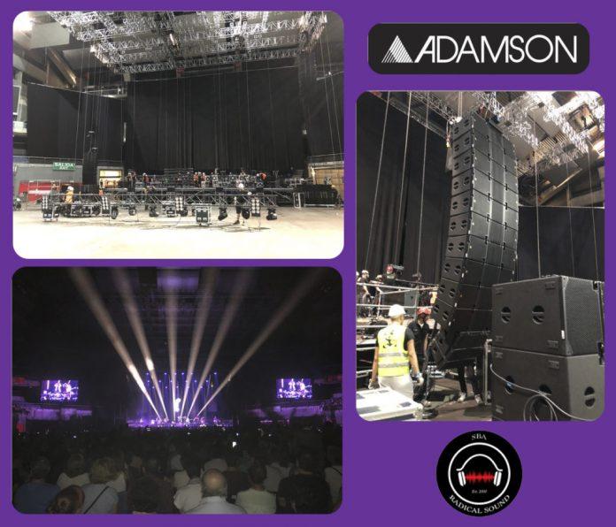 Sistema de sonido Adamson E15 estrenado por SBA