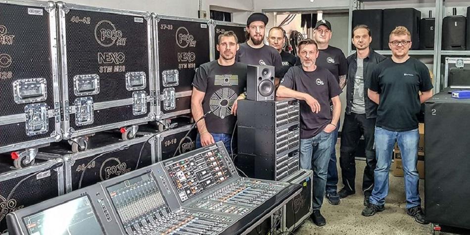 Nuevo sistema de mezcla digital RIVAGE PM7 de Yamaha llega a PogoA