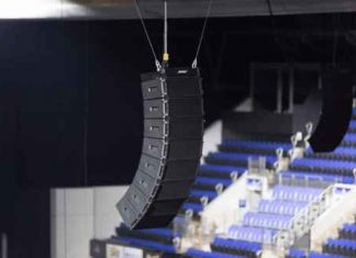 Sistema de line array Bose Professional ShowMatch el mejor sonido Bose Professional