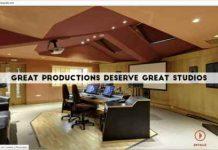 DRAX audio refuerza sus salas de grabación y nueva web