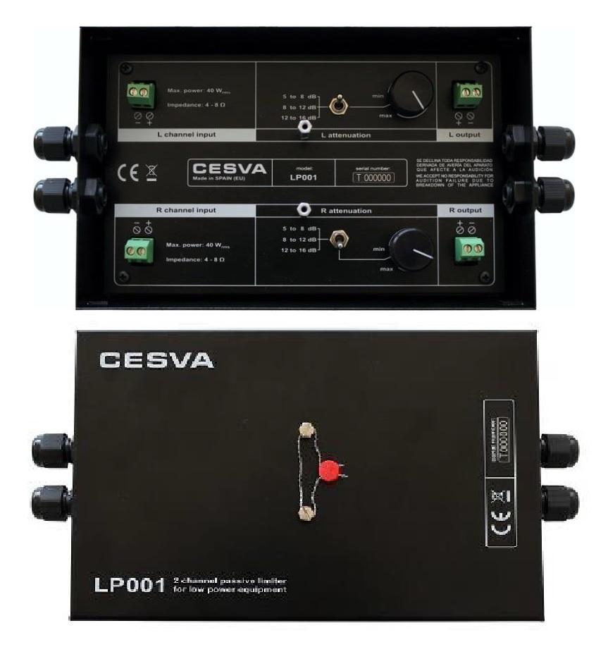 Nuevo limitador pasivo LP001 para equipos de baja potencia
