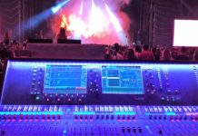 Sistemas digitales dLIve Allen-heath en el festival Mad Cool 2018