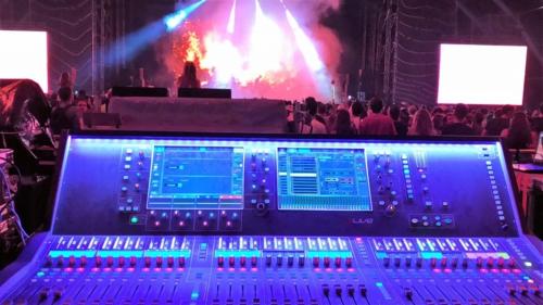 Sistemas digitales dLIve Allen-heath en el festival Mad Cool 2018
