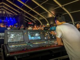 Consolas de sonido digital de la serie RIVAGE de Yamaha en Rock Pukkelpop
