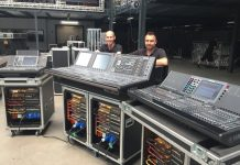 Sistemas de mezcla digital RIVAGE PM7 de Yamaha para AED