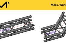 Archivos 3D DWG para trusses y estructuras de MILOS