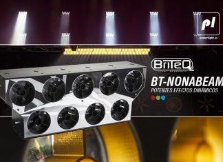 proyector de iluminación profesional led BT-NONABEAM 2