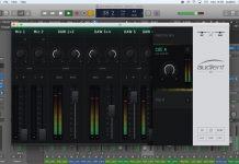 software de mezcla iD Mixer Audient 1