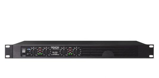 amplificadores multicanal DN-470A y DN-474A de DENON PROFESSIONAL 1