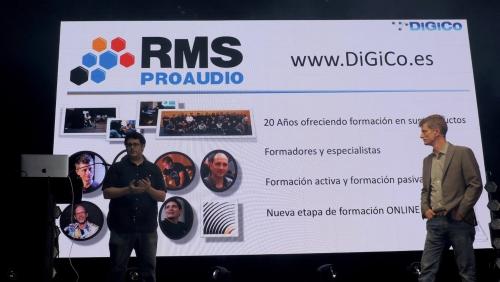 escuela online de consolas de sonido DiGiCo 1