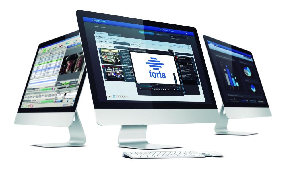 gestión digital de intercambio de contenidos VSN