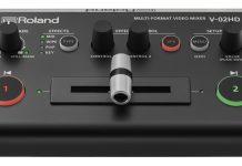 mezclador de vídeo multiformato V-02HD de Roland