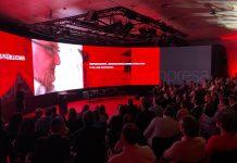 pantalla LED curva de gran formato SONO 0