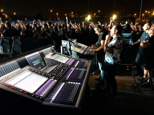 LEO de Meyer Sound y consolas DiGiCo 3