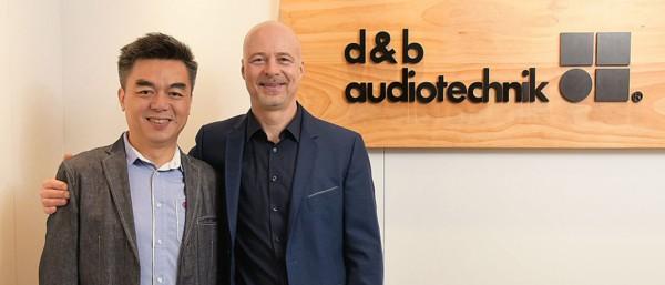 fabricante de equipos de sonido profesional d&b en Asia