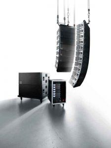 sistema de sonido profesional line array Serie KSL