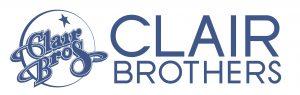Logo clair brothers sonido profesional