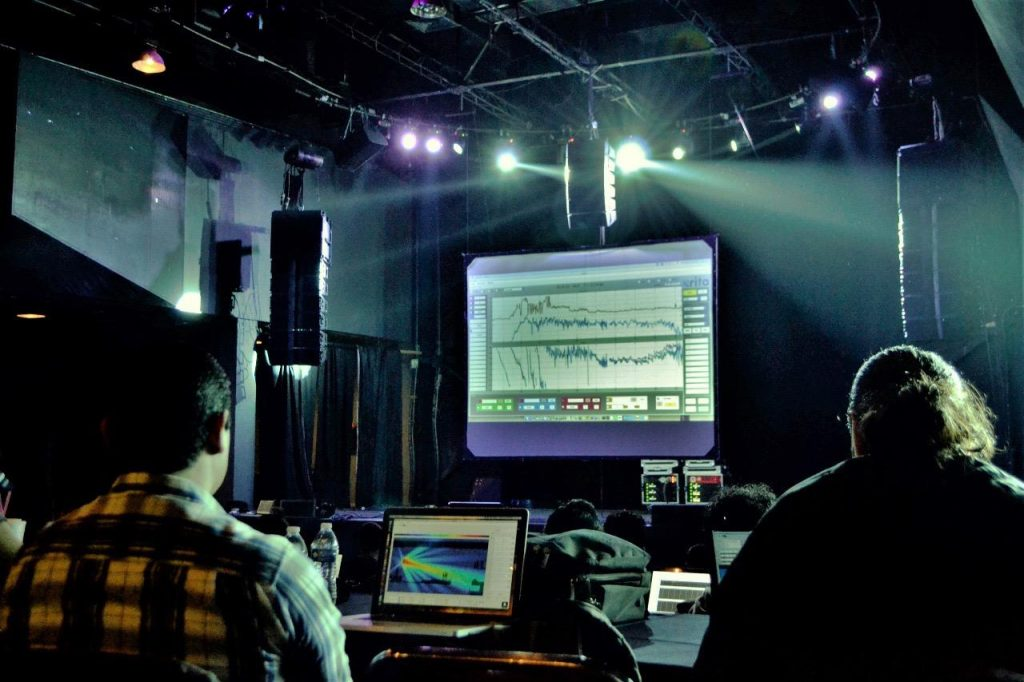 Curso de técnico de sistemas para espectáculos en Barcelona