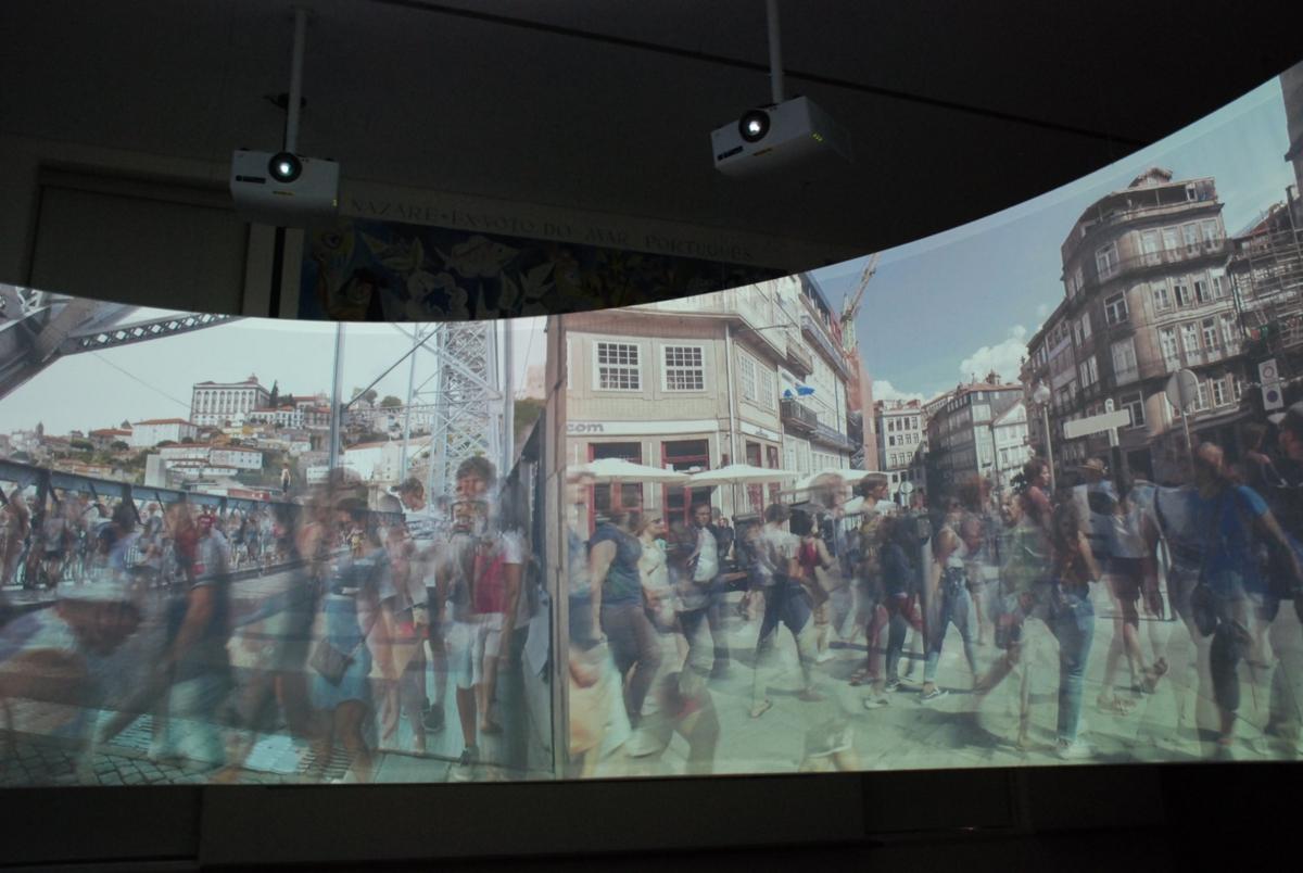 Proyectores láser serie GS de Christie en el Museo de Arte Popular
