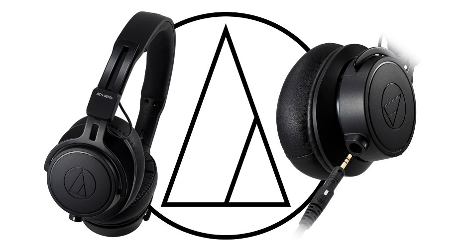 Auriculares on-ear profesionales ATH-M60x