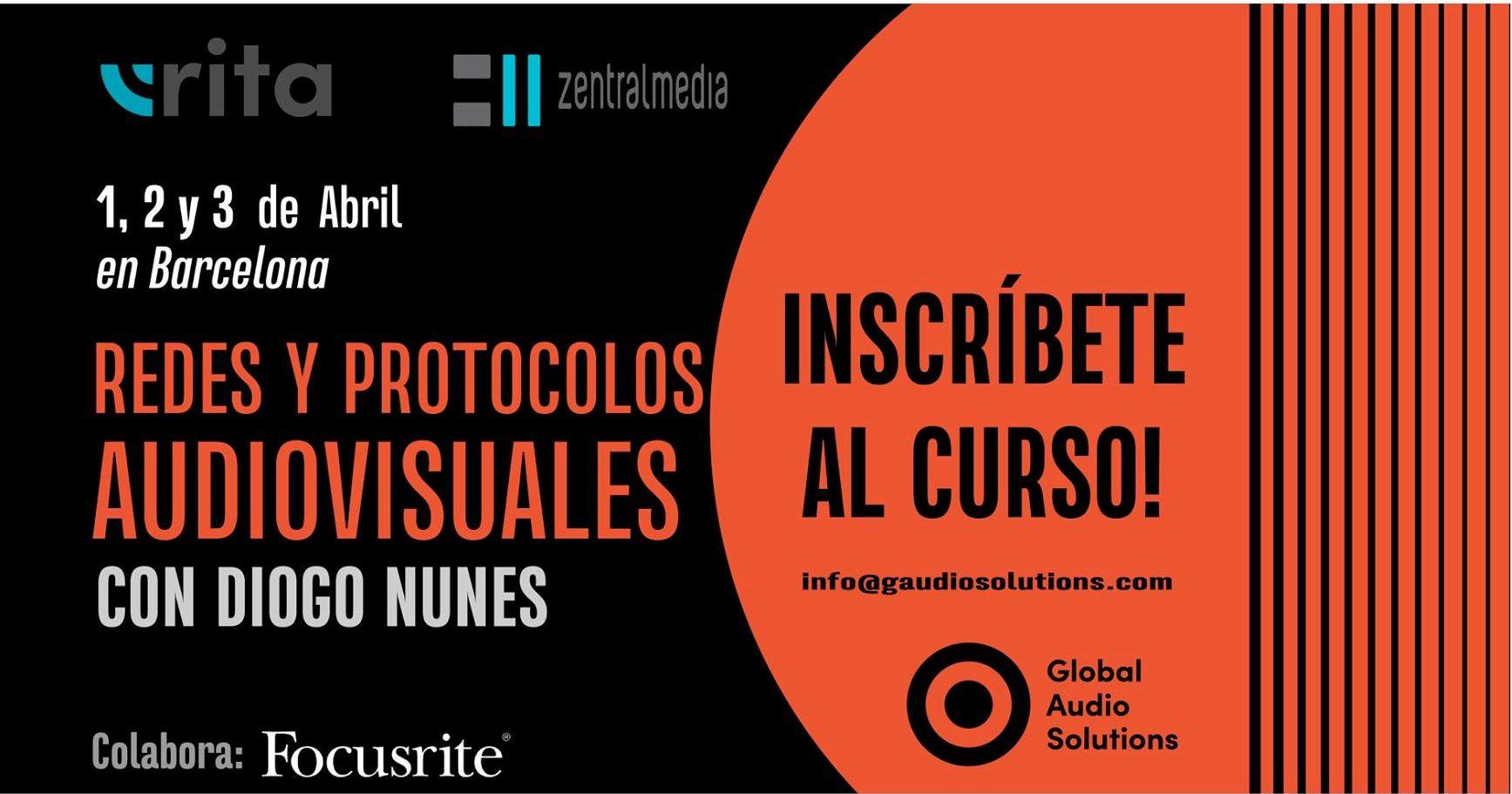 curso Redes y Protocolos Audiovisuales