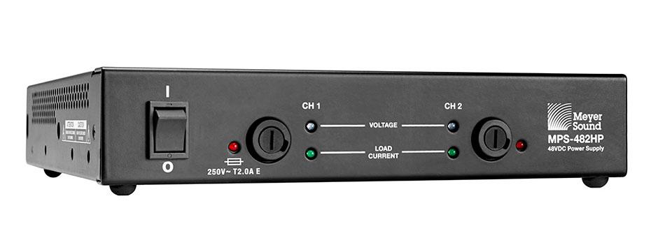 fuente de alimentación de dos canales MPS-482HP