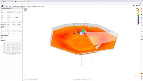 simulación acústica 3D