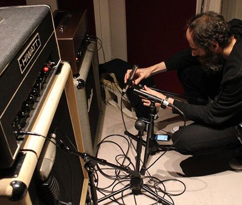 técnicos de sonido profesional