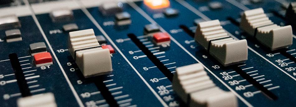 trabajo del técnico de sonido
