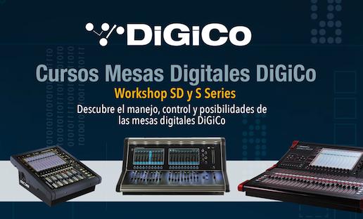 Curso mesas digitales DiGiCo de la serie SD