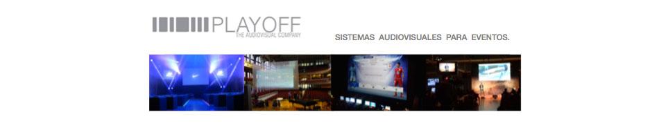 servicios audiovisuales PLAYOFF