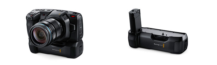 empuñadura modelo Pocket Cinema Camera 4K