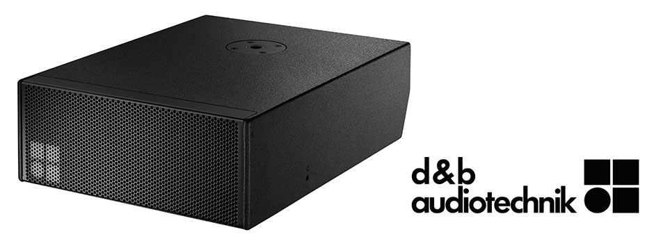 equipo de sonido subgrave B8 de d&b audiotechnik