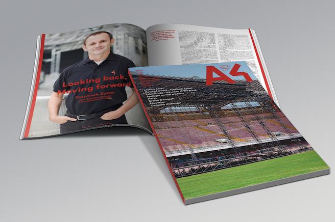 Magazine A4 Four Industries, entra y descarga la más actual información