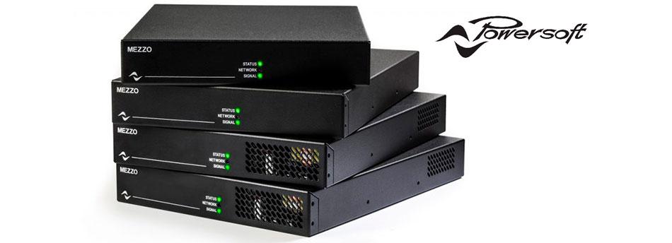 Solución de amplificación para instalaciones Powersoft MEZZO