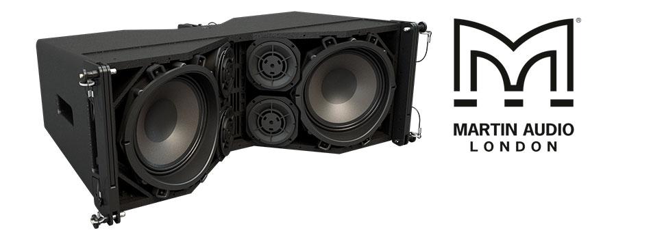 Sistema Line Array Serie Wavefront Precision de Martin Audio