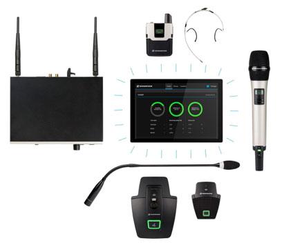 SpeechLine Digital Wireless y MobileConnect