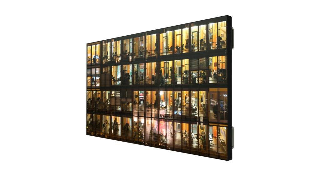 paneles planos LCD de 65 pulgadas reduce el tiempo de instalación
