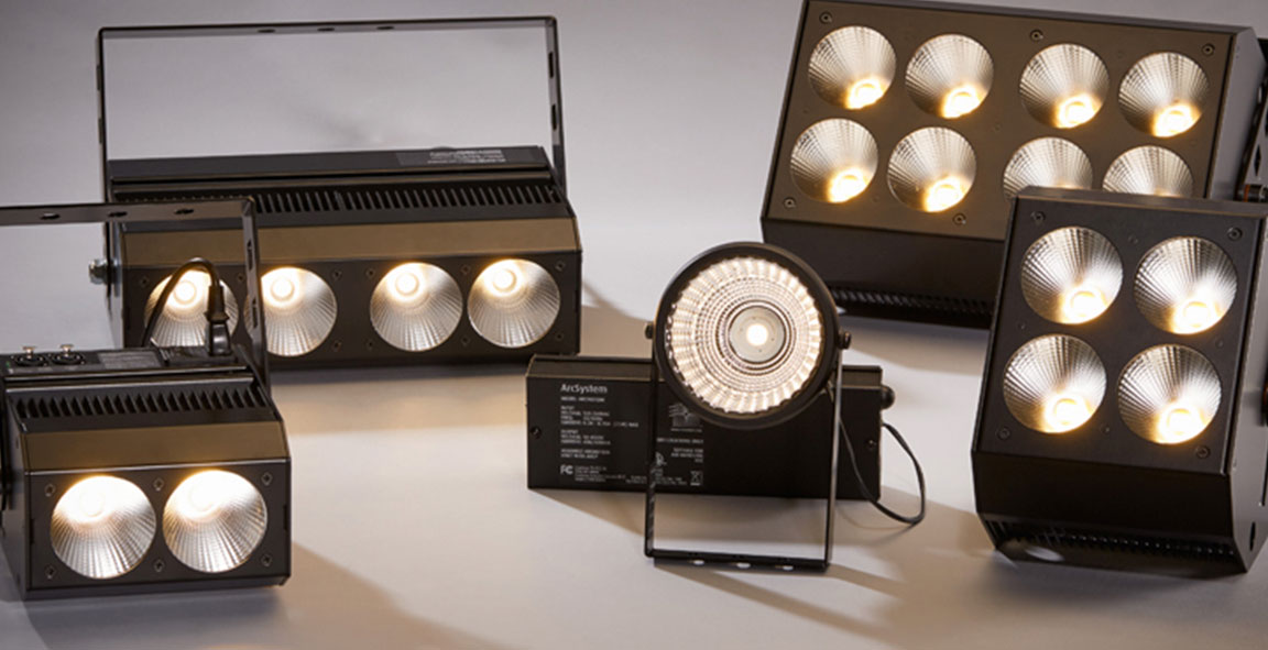 luminarias LED modulares