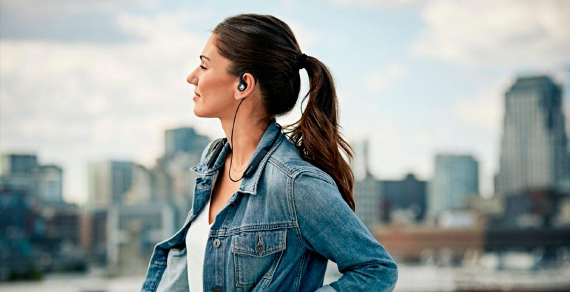 Auriculares inalámbricos in-ear con Bluetooth